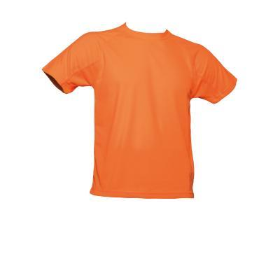 TEE-SHIRT HOMME RESPIRANT ORANGE FLUO