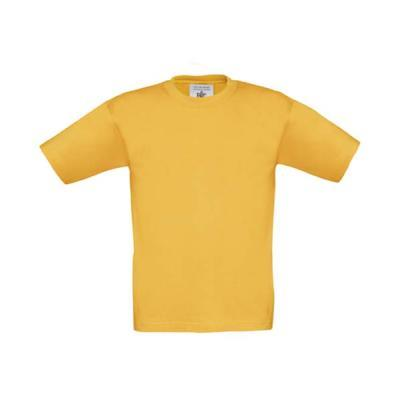 tee-shirt coton 190g enfant or