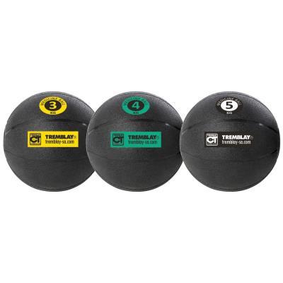 MEDECINE BALL GONFLABLE DE 1 À 5KG
