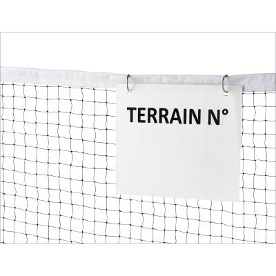 LOT DE 3 AFFICHAGES TERRAIN DE BADMINTON