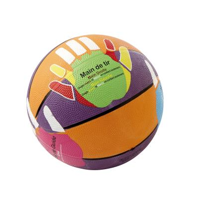 BALLON BASKET-BALL HANDS ON INITIATION TAILLE 5