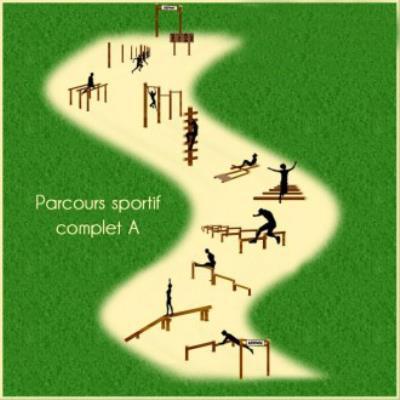 PARCOURS SPORTIF COMPLET A 10 MODULES