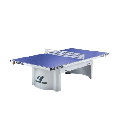 TABLE DE TENNIS DE TABLE PRO 510 OUTDOOR CORNILLEAU BLEUE