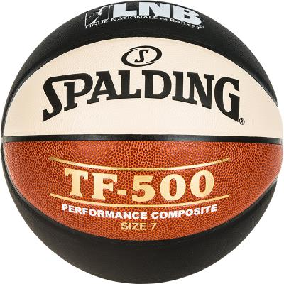 BALLON BASKET-BALL SPALDING TF-500 TAILLE 7
