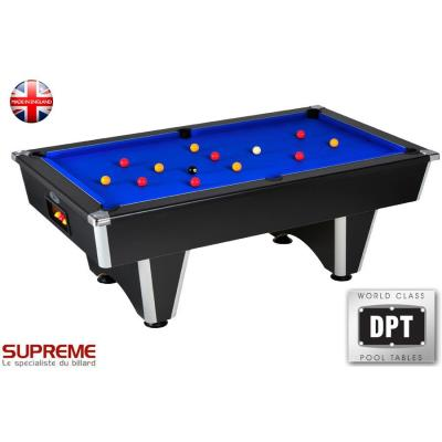 BILLARD DOMESTIC 7FT SUPREME NOIR BLEU