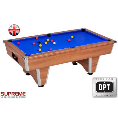 BILLARD DOMESTIC 7FT SUPREME MARRON BLEU