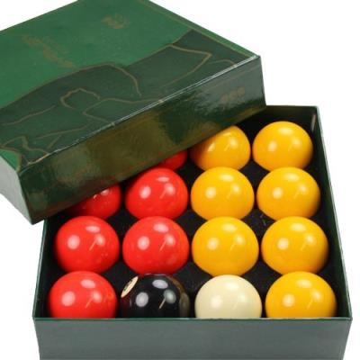 LOT DE 16 BILLES BILLARD POOL ANGLAIS