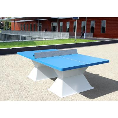 TABLE  DE TENNIS DE TABLE RESITEC HD 60 AVEC COINS RONDS