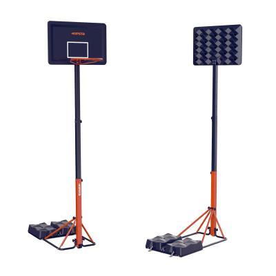 Panier de basket enfant/adulte B400 EASY bleu orange. 2,40m à 3,05m sans outils.