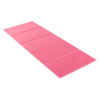 Tapis de sol fitness pliable FOLD rose