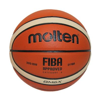 BALLON BASKET-BALL MOLTEN GMX TAILLE 6 COMPETITION