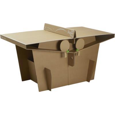 table de ping-pong en carton paper pong - clubs & collectivités