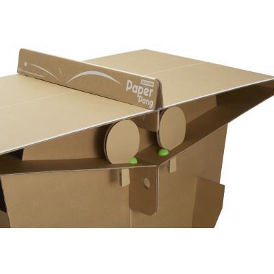 Table de ping pong en carton paper pong clubs collectivit s decathlon pro - Construire table ping pong ...