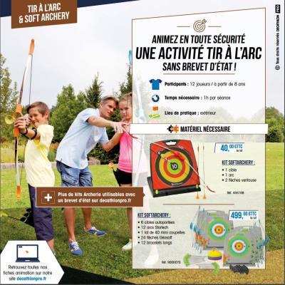 Kit pédagogique soft archery - .