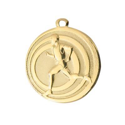 MÉDAILLE FRAPPÉE CROSS OR 32 MM