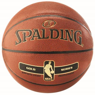BALLON BASKET-BALL SPALDING NBA GOLD
