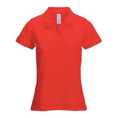 POLO FEMME SAFRAN TIMELESS ROUGE