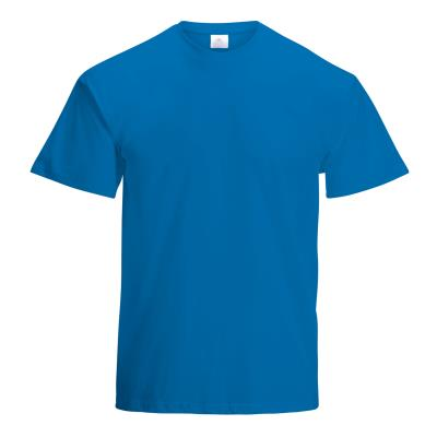 TEE SHIRT COTON 150G MIXTE ADULTE BLEU ROYAL