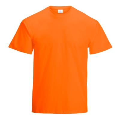 TEE SHIRT COTON 150G MIXTE ADULTE ORANGE
