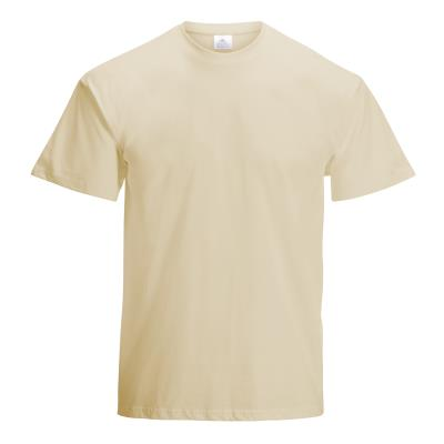 TEE-SHIRT COTON 190G MIXTE ADULTE SABLE