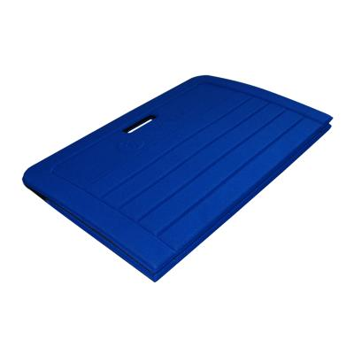 Tapis pilates pliable 140 X 60 X 0,8cm bleu