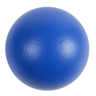 ballon peau d'éléphant 21 cm bleu