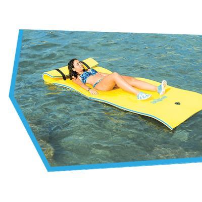 tapis flottant piscine skiflott 1 personne