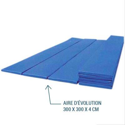 AIRE D'ÉVOLUTION PLIABLE 300 X 300 X 4 CM