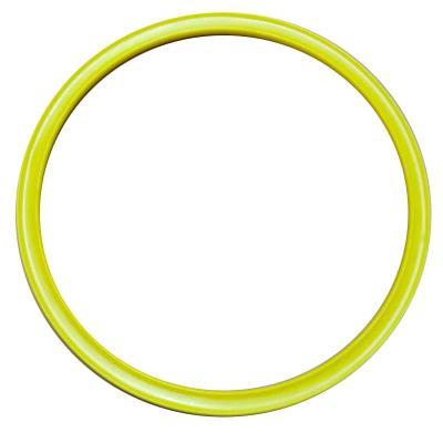 Cerceau plat jaune 35 cm (l'unité)