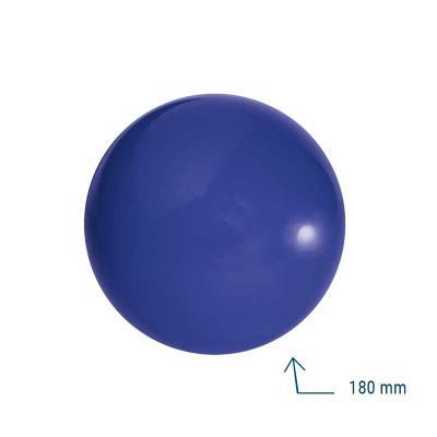 BALLE SCOLAIRE LISSE BLEU 180 MM