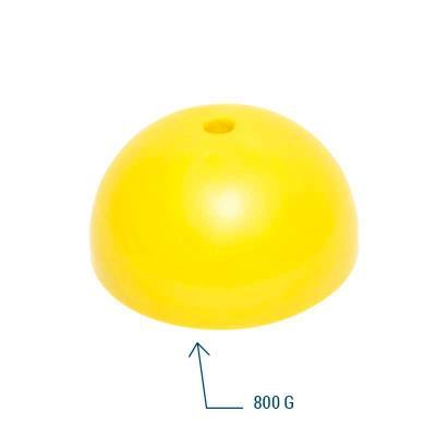 Socle lesté jaune 800 g