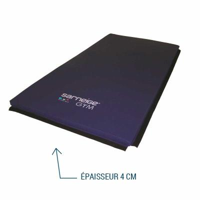TAPIS DE GYM EPAISSEUR 4 CM HOUSSÉ ASSOCIATIF