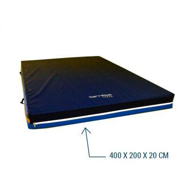 MATELAS DE GYMNASTIQUE RECEPTION STABILISE 400X200X20 CM