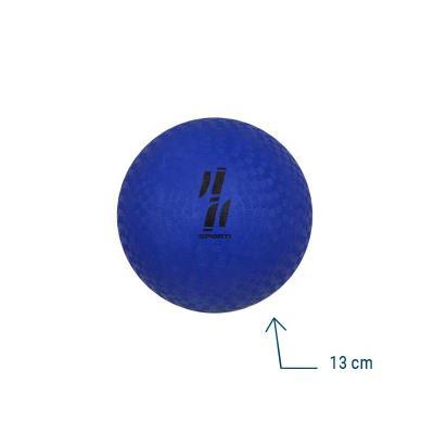 ballon de motricité caoutchouc 13 cm
