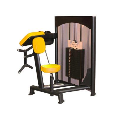 Machine biceps jaune maxi 90 kg