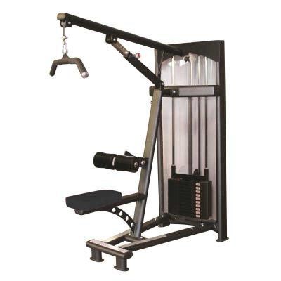 Appareil musculation bras et dos Dorsy haut noir 100 kg