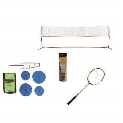 Kit badminton - quartiers