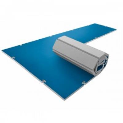 aire d'evolution modulaire roll-connect  4 cm bleue