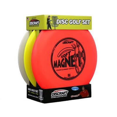 pack de 3 disques débutants de disc-golf