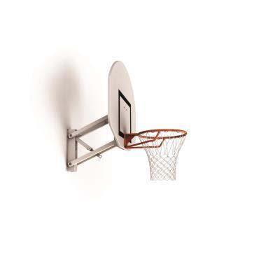 Panneau de basket mural réglable 2,6m à 3,05m.