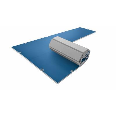 aire d'évolution modulaire Tis-roll 4 cm bleue