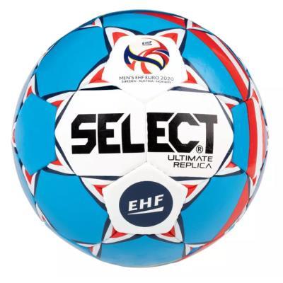 Ballon de handball adulte Select Replica T3 blanc / bleu