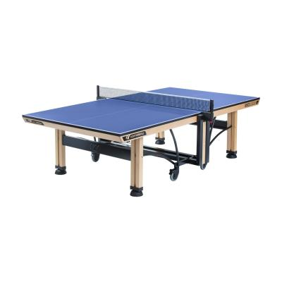 table de tennis de table 850 wood ittf cornilleau bleue