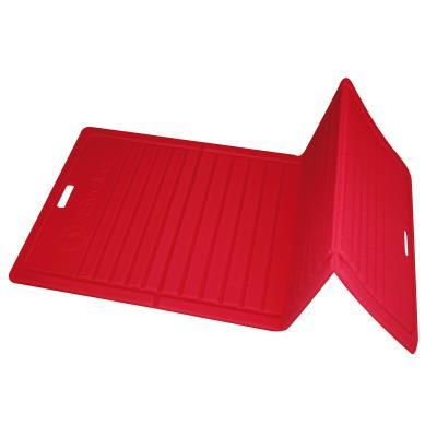 Tapis pilates pliable 170 X 70 X 1,3cm rouge