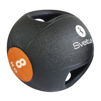 Medecine ball 8kg avec poignées