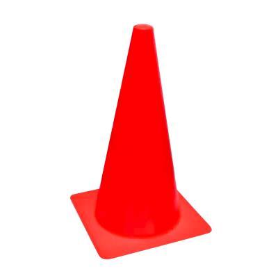 Cône sport Eco rouge 35 cm