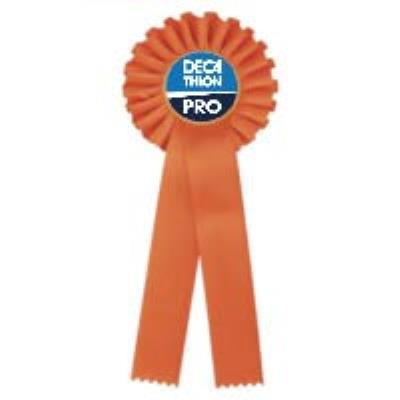 flot orange personnalisé logo couleur