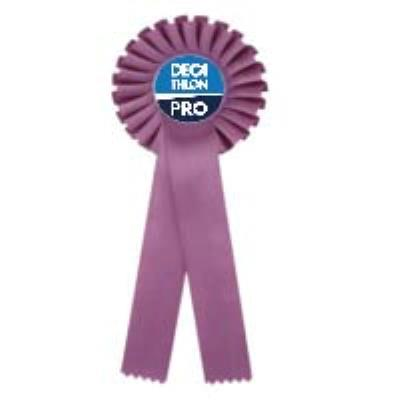 flot violet personnalisé logo couleur
