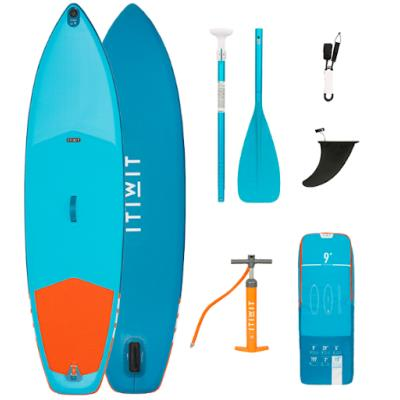 PACK 3 SUP GONFLABLE X100 9' BLEU Sans taille