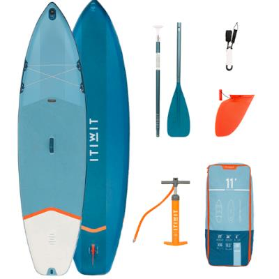 PACK 1 SUP GONFLABLE X100 11' BLEU Sans taille